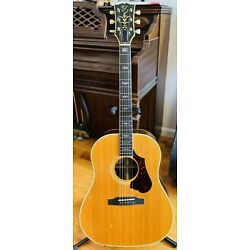 Gibson J45-90th Anniversary Celebrity Acoustic/Electric-1985