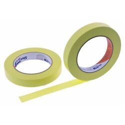 2x 3/4'' Yellow Masking Tape Painting Home Crafts Scrapbooking School Project