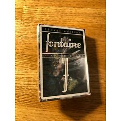 Fontaine Futures Playing Cards - Floral Edition - Brand New (Fontaines Future)