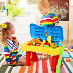 Honeyjoy 2 in 1 Kids Water Table and Sand  Activity Play Table w/ Accessories