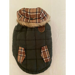 Petco Molly & Olly Quilted Dog Jacket Vest Petco Countryside Collection Small