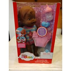 Fisher Price Little Mommy Baby Doll Drink Wet African American New Free Shipping
