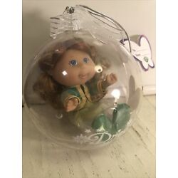 Cabbage Patch Lil Sprouts DOLL ORNAMENT Eden Sylvia Red Hair 1/28 Dream Blue Eye