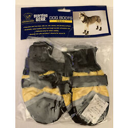 Guardian Gear Dog Boots Size Small Water Repellent Yellow Black