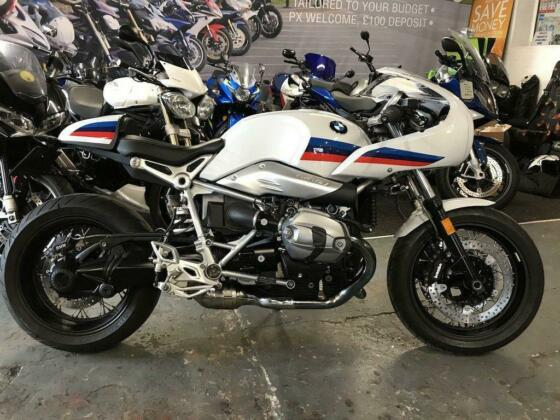 2017 17 BMW R NINET RACER 108 BHP * 2 OWNERS, LOW MILEAGE, DELKIVIC EXHAUST*