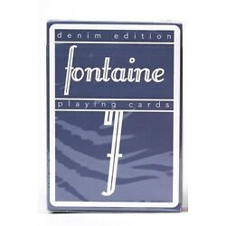 Fontaine Denim Playing Cards