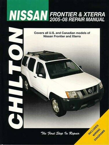 nissan frontier xterra shop manual book service repair ebay. Black Bedroom Furniture Sets. Home Design Ideas