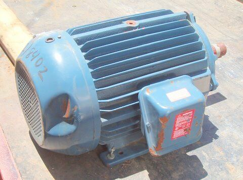 A o smith 20 hp electric motor ebay for 20 hp dc motor