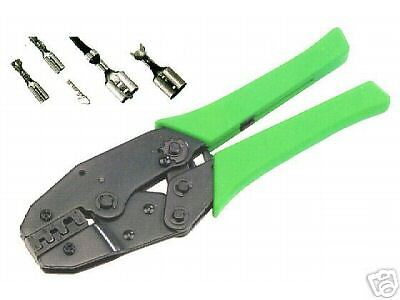 Ratcheting Crimping Tool For Open Uninsulated Terminals Ebay