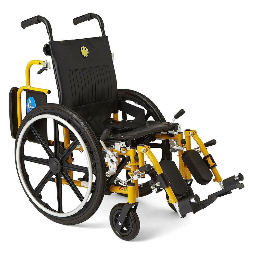 Medline excel kidz 14 pediatric wheelchairs new kids for Mobility chair