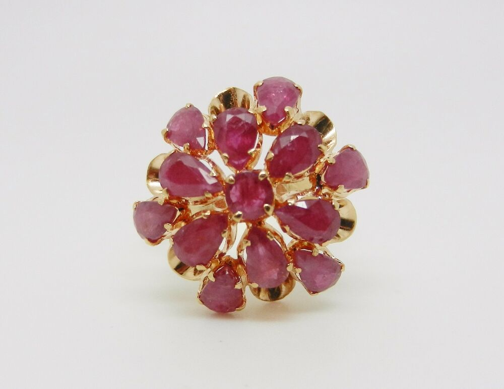History Antique Cluster Rings