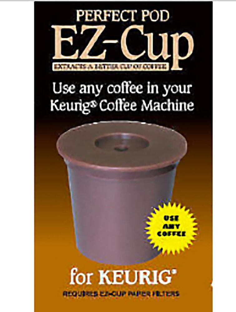 Best Coffee Maker Using Pods : EZ Cup for Keurig** Coffee Machines by Perfect Pod eBay