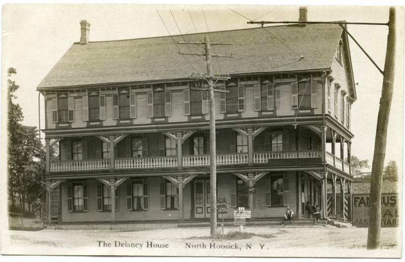 Rppc ny north hoosick the delaney house ebay for The delaney house
