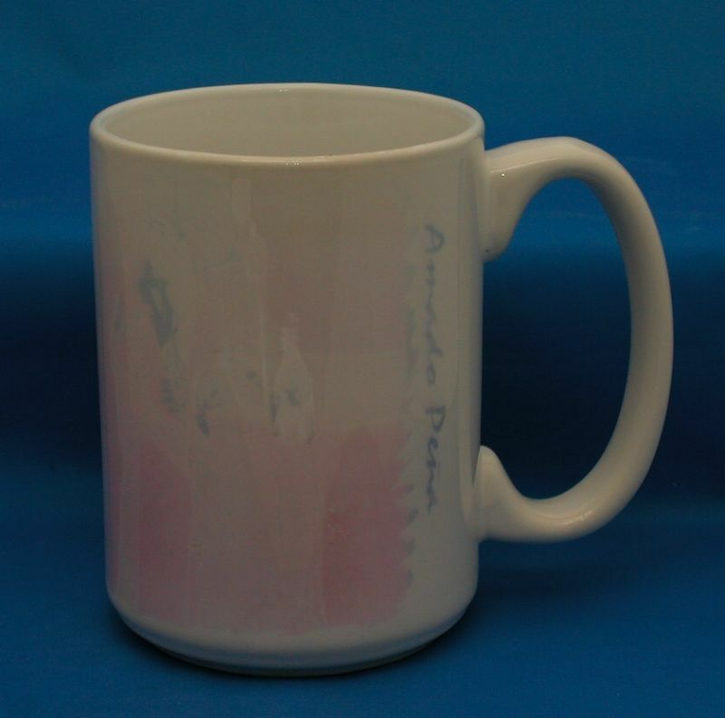 large coffee mugs amado pena coffee mug large tea cup latte ebay 11544