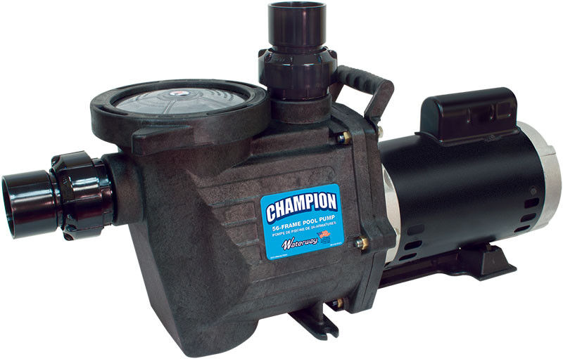 waterway champion 1 5 hp inground swimming pool pump champs115 ebay. Black Bedroom Furniture Sets. Home Design Ideas