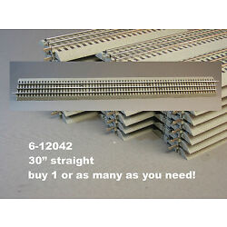 LIONEL FASTRACK 30 INCH LONG STRAIGHT TRACK fast O GAUGE 3 rail 6-12042 NEW