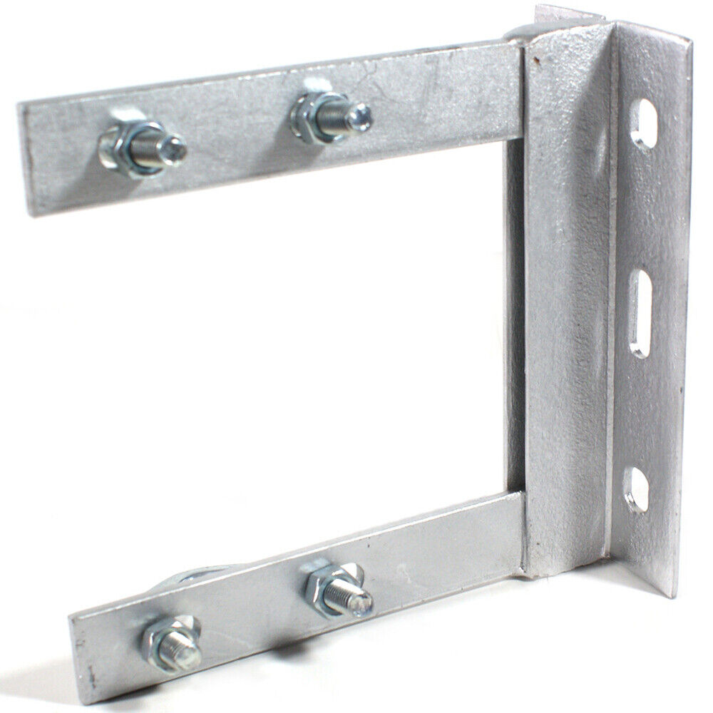 6 Quot X 6 Quot Tv Aerial Wall Mounting Bracket Amp V Bolts