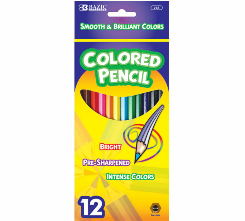 Wholesale Lot 144 Package 12 Color Pack Colored Pencils Ebay