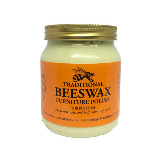 Cambridge traditional beeswax wooden furniture polish cream neutral 283g ebay Cream wooden furniture