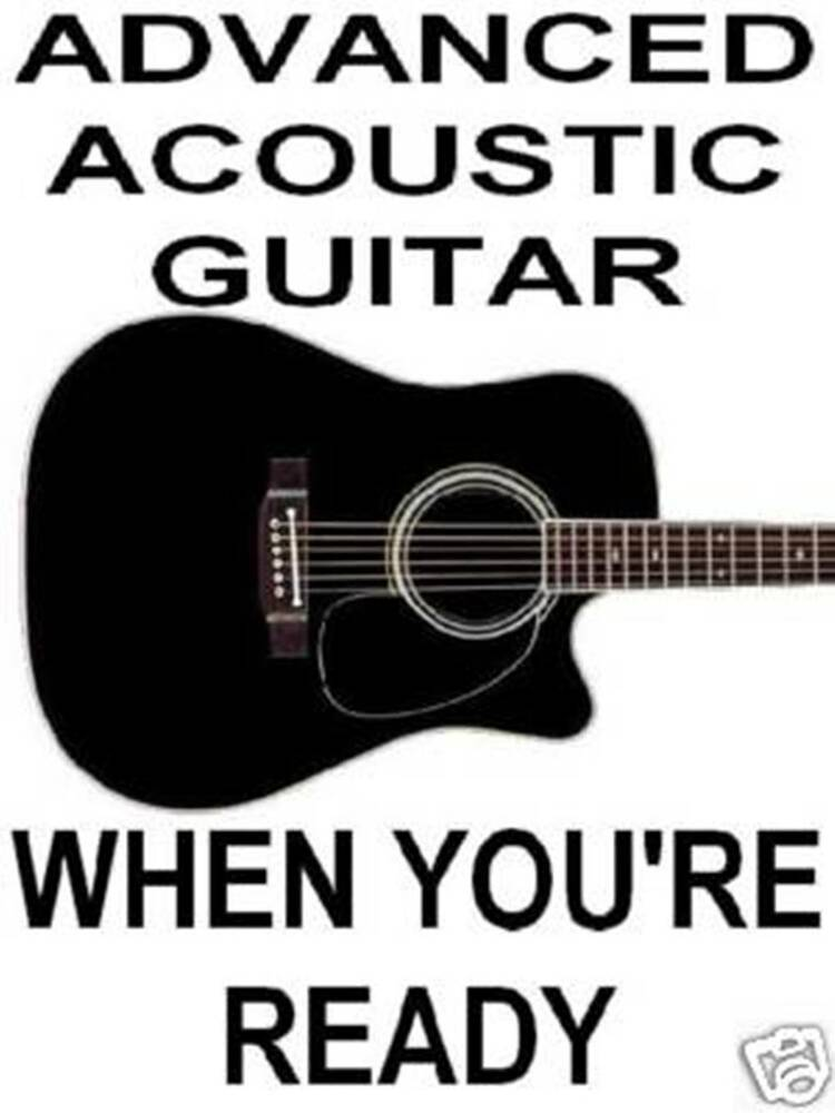 Advanced Acoustic Guitar Lessons. DVD Video Play 4 Real | eBay