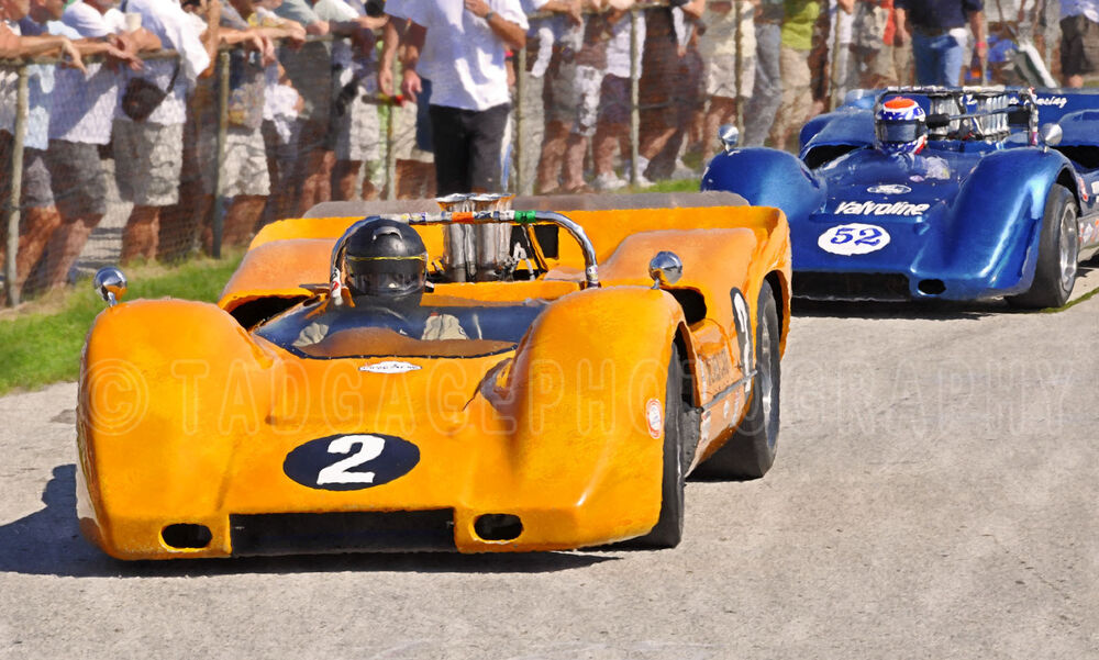 Vintage Race Cars For Sale On Ebay >> 1968 McLaren M6B Can-Am Vintage Classic Race Car Photo (CA-0525) | eBay