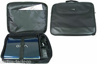 NEW 17 17.4 INCH DURABLE NOTEBOOK LAPTOP CARRY BAG CASE, BLACK