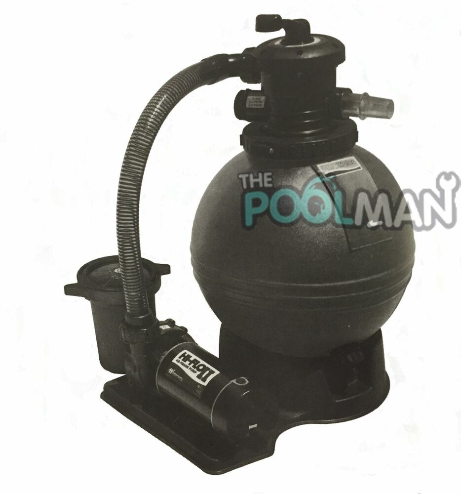 Waterway 2 Hp Pool Pump Amp 22 Quot Sand Filter With Hoses Ebay