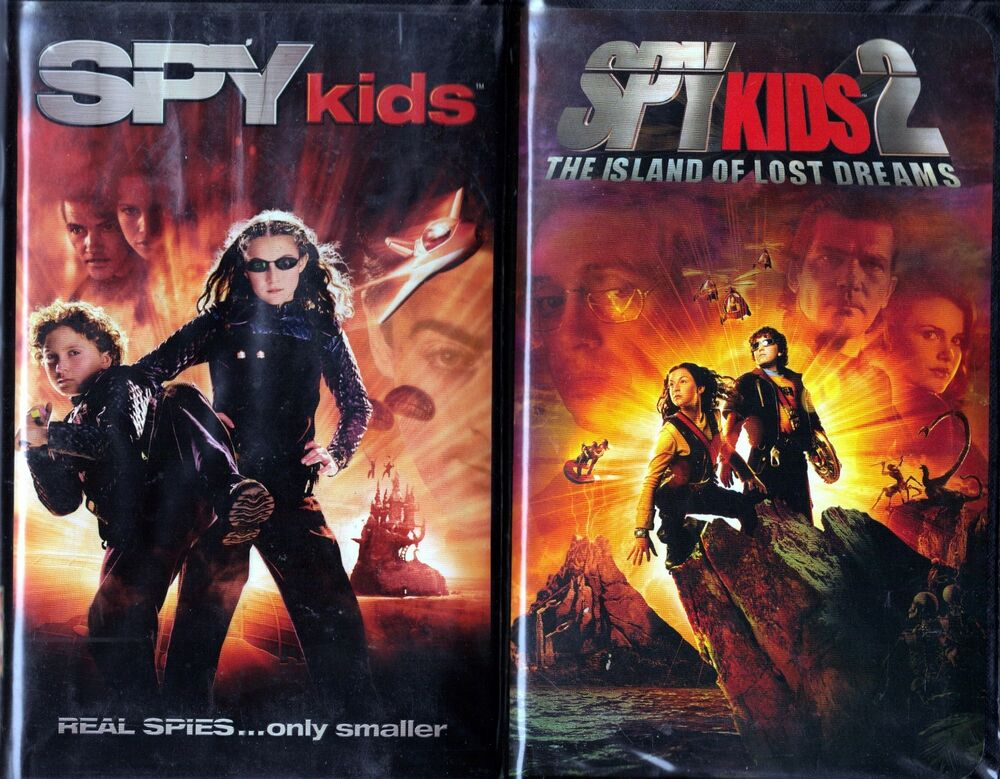 Where Can I Sell My Vhs Tapes >> Spy Kids (VHS, 2001) & Spy Kids 2 - 2 VHS Tapes | eBay