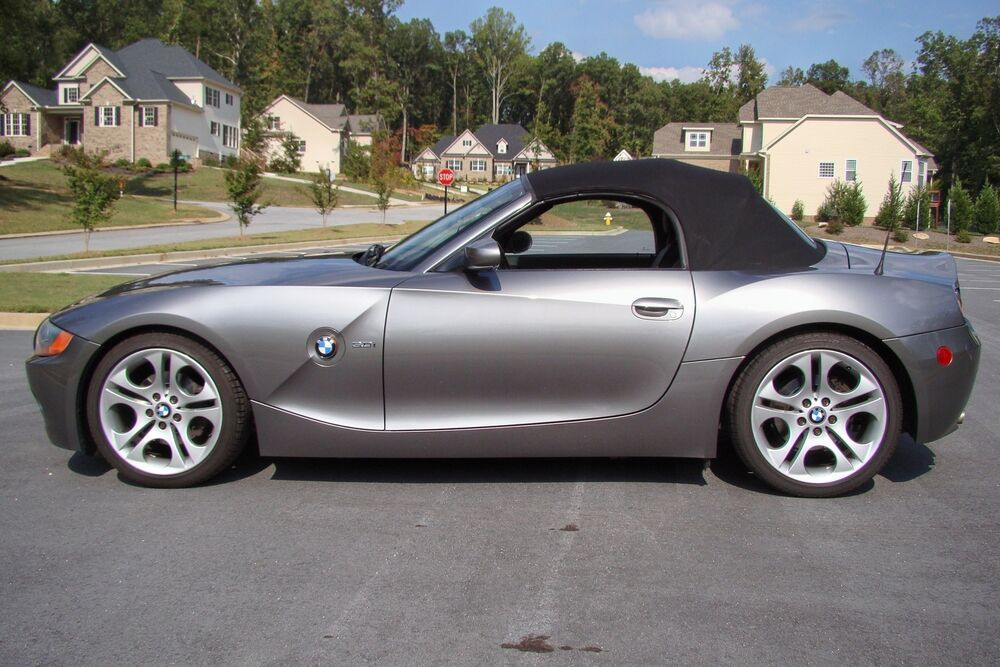 03 08 Bmw Z4 Convertible Top Sndk Material Ebay