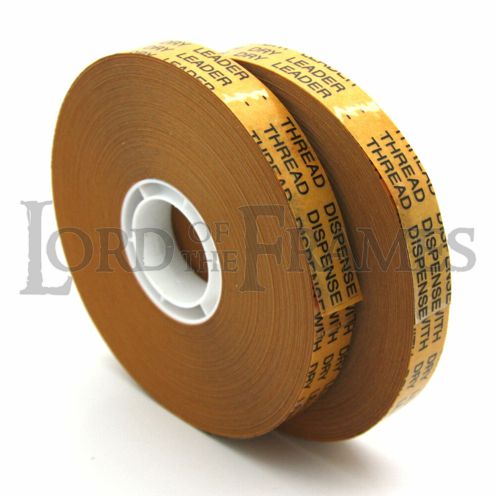 2 X Atg Tape 12mm X 50m Double Sided Adhesive Transfer