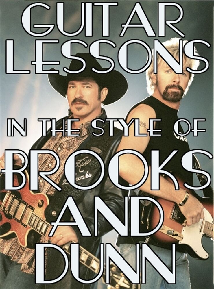 guitar lessons the style of brooks dunn dvd country boot scootin 39 boogie more ebay. Black Bedroom Furniture Sets. Home Design Ideas