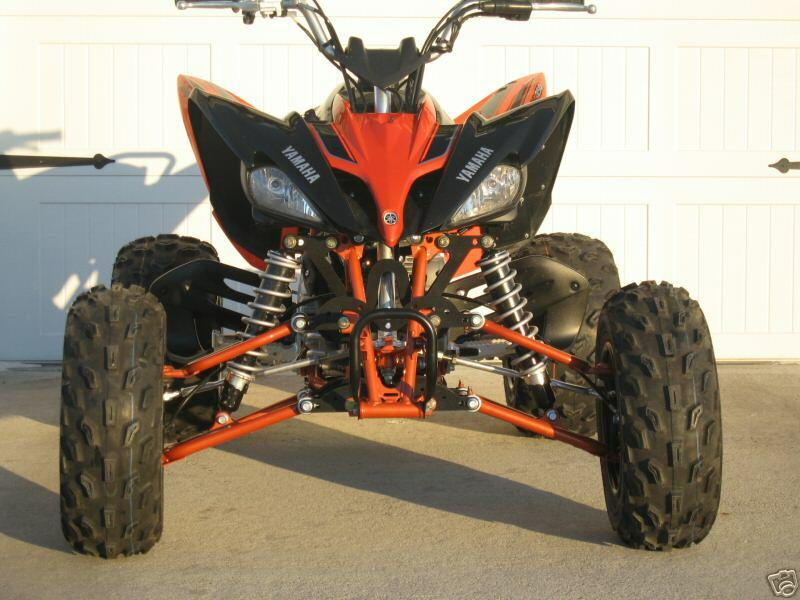 yamaha raptor 125 widening kit w brake lines atv quad ebay. Black Bedroom Furniture Sets. Home Design Ideas