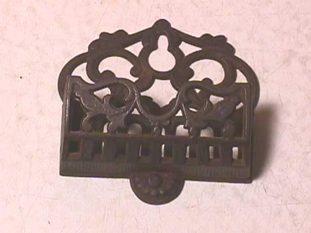 Antique Cast Iron Match Holder Wallmount Ebay