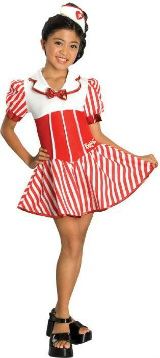 Bratty Nurse Bratz Red White Dress Up Child Costume | EBay