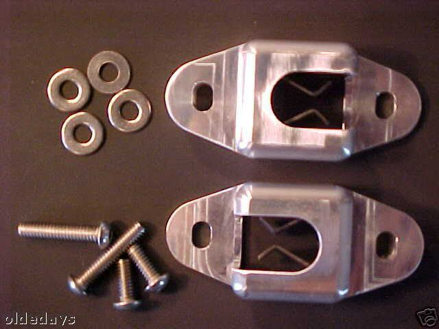 1955 1956 1957 Chevy Nomad Amp Wagon Rear Seat Latches Set