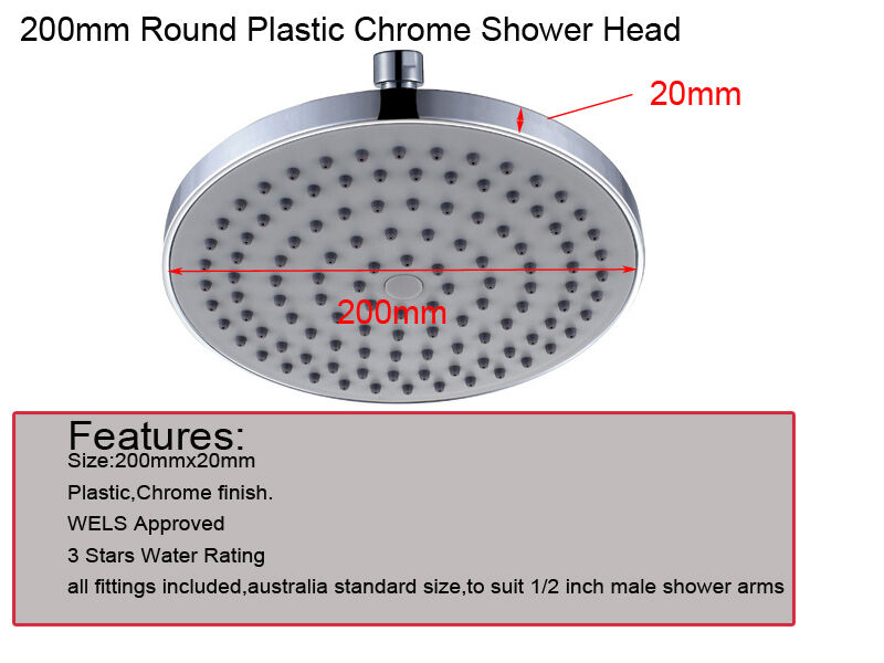 how to clean a plastic shower head
