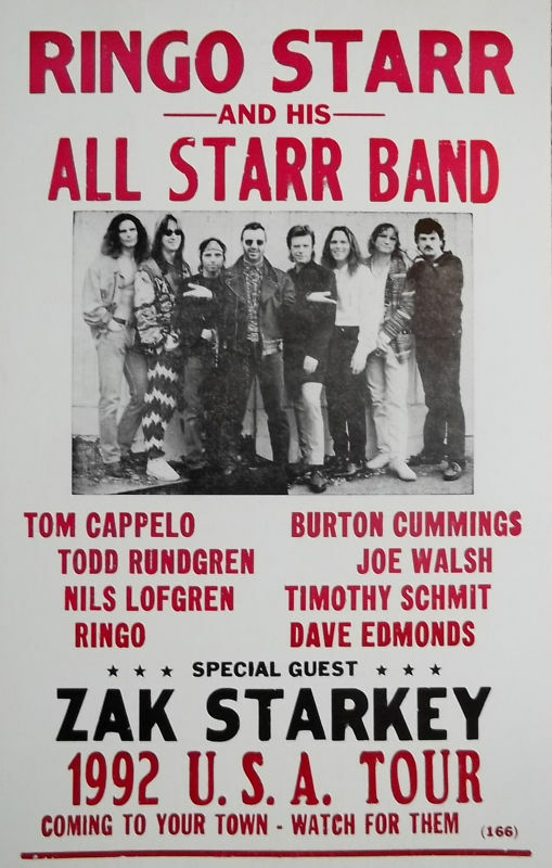 Ringo Starr And His All Starr Band Tour