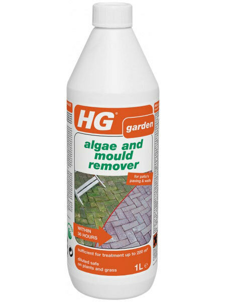 Hg moss algae and mould remover for paths patios fences ebay for H g bathroom mould spray