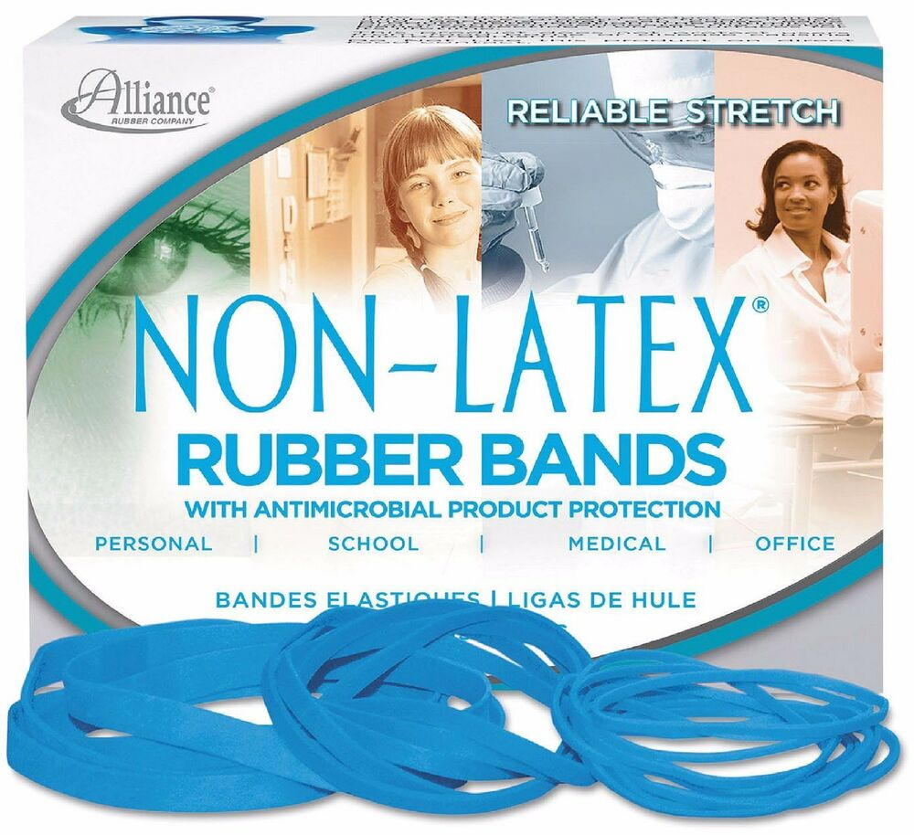Alliance Latex Free Antimicrobial Rubber Bands New 117B | eBay