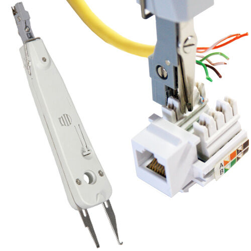Idc Punch Push Down Tool Cat5e Cat6 Rj11 Network For