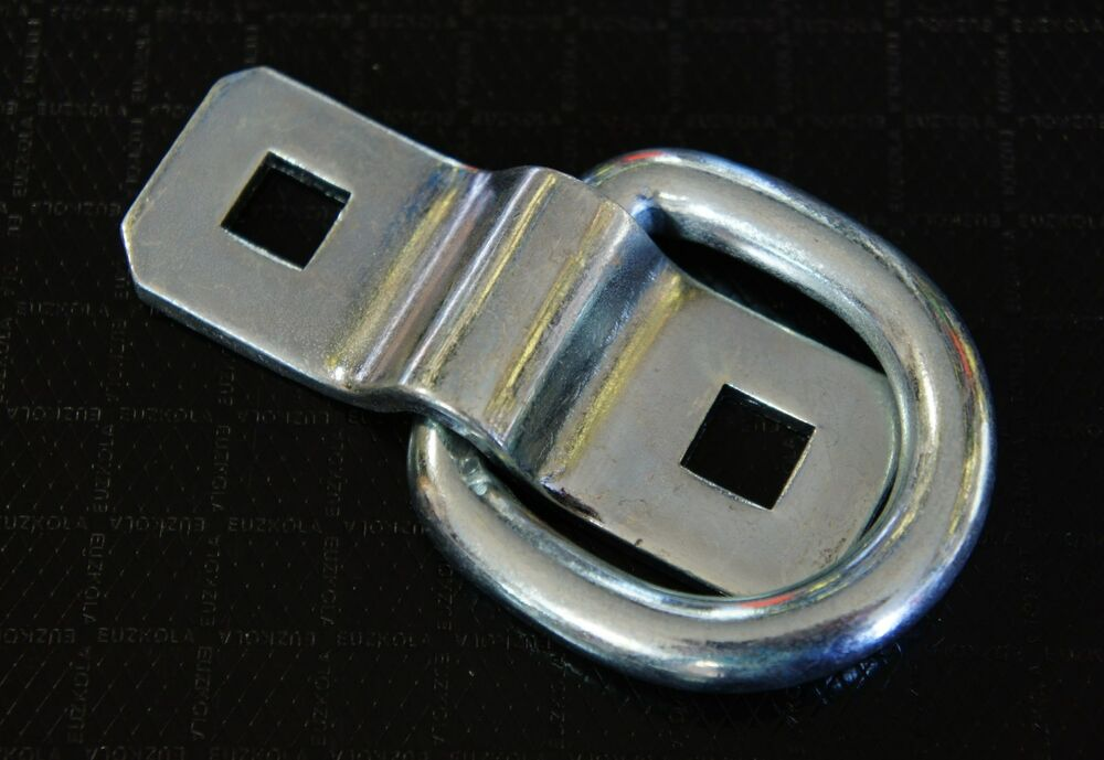 Bolt On Tie Downs : Quot bolt on d rings rope chain strap cable tie down