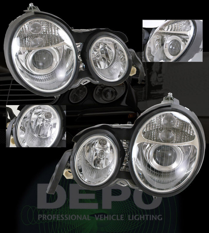 96 99 mercedes benz w210 e class w211 look head lights ebay for 96 mercedes benz
