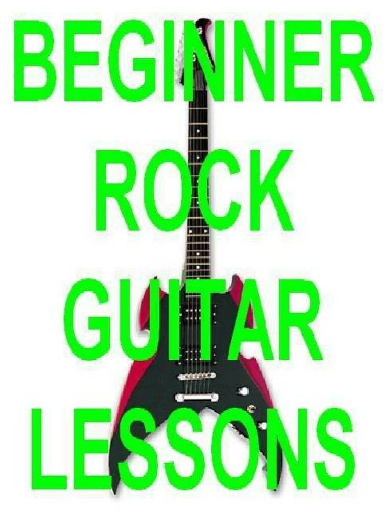 learn beginner electric rock guitar dvd lesson vol 1 time to wake the neighbors ebay. Black Bedroom Furniture Sets. Home Design Ideas