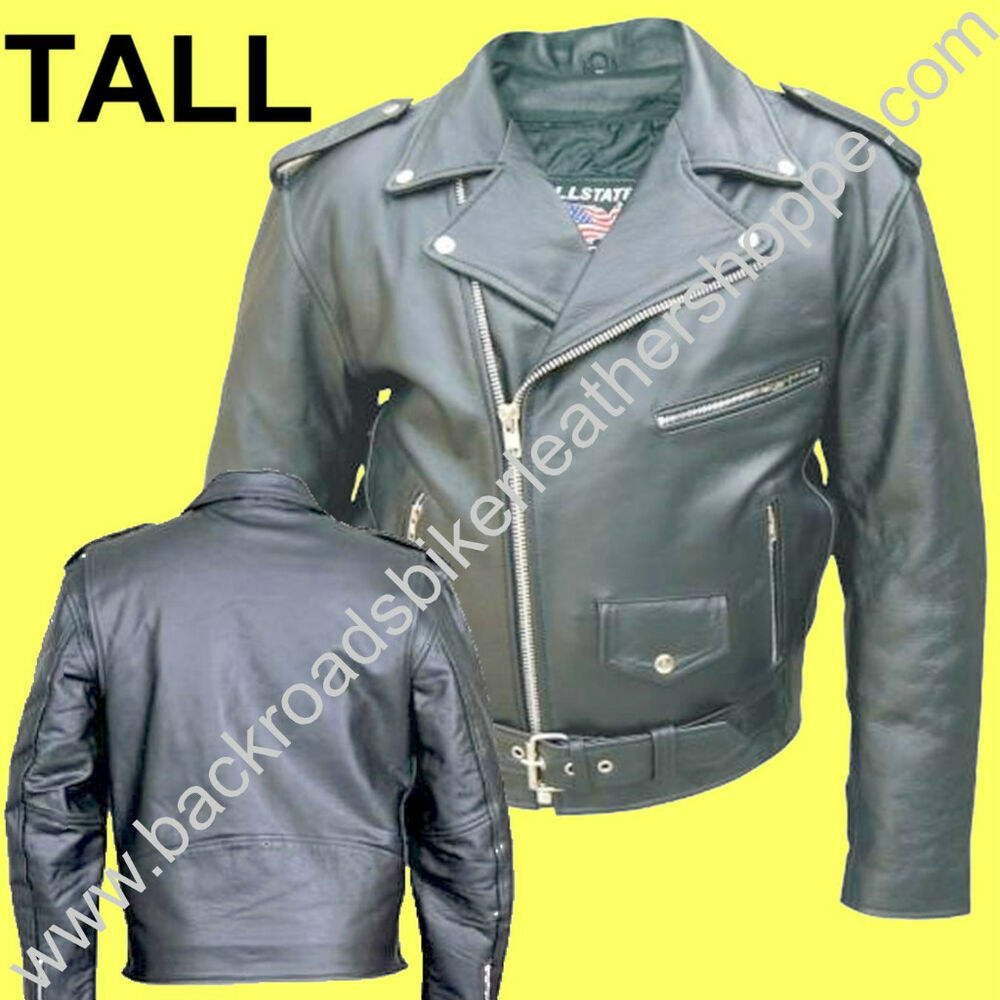 Big tall leather jackets