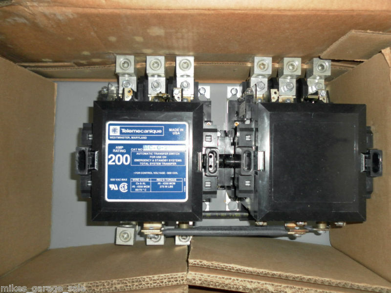 s l1000 200 amp transfer switch ebay asco 185 transfer switch wiring diagram at crackthecode.co