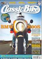 CLASSIC BIKE-OCTOBER 2010 issue (NEW COPY)