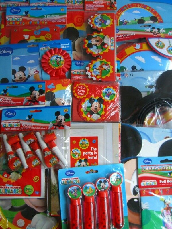 mickey mouse clubhouse birthday party range amscan