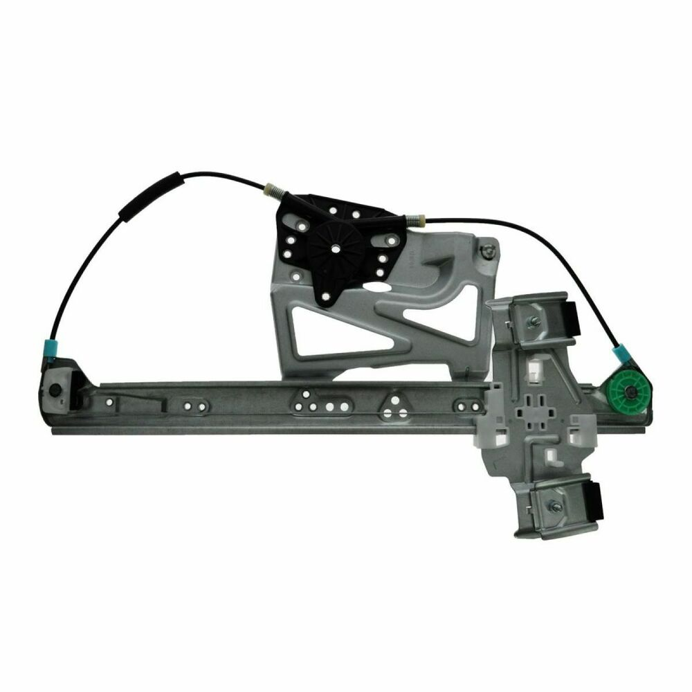 Front power window regulator driver side left lh new for Window motor and regulator cost