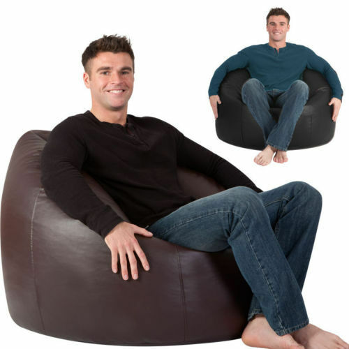 MAN SIZE Beanbag XXXL ADULT Bean Bag Chair HUGE BAGS