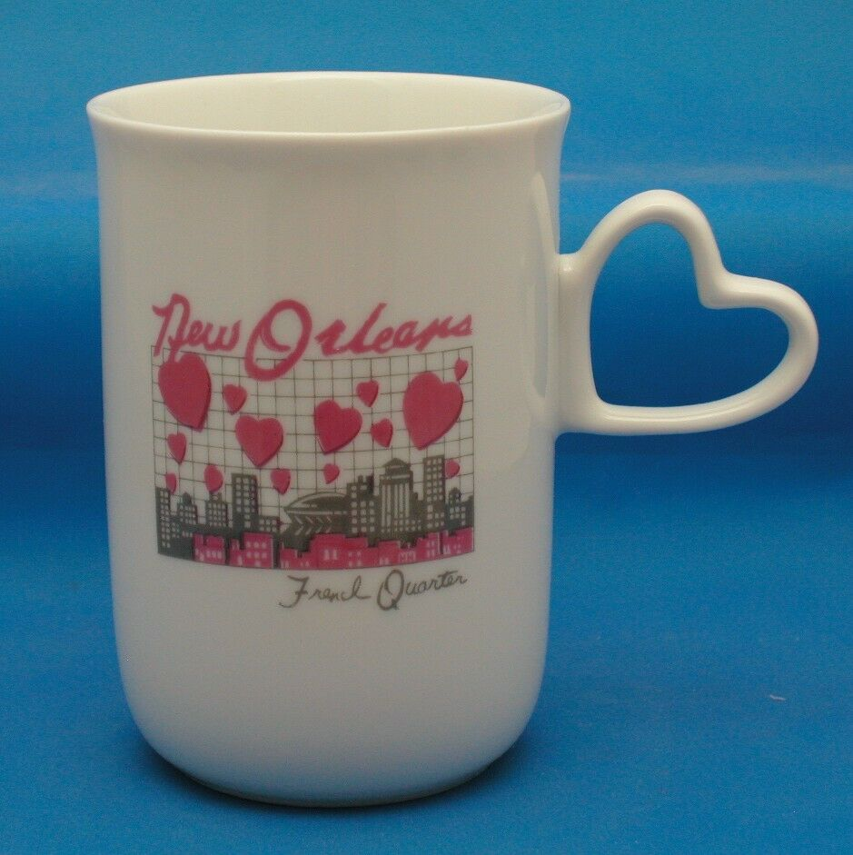 New Orleans French Quarter Porcelain Tea Cup Coffee Mug